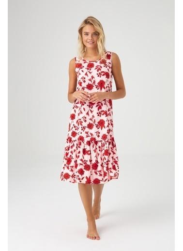 Mod Collection Kadın Puanlı Elbise Kırmızı